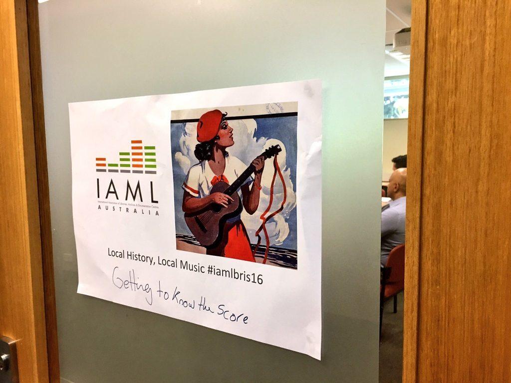 IAML Australia - Getting to know the score